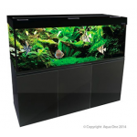 Brilliance 180 Rectangular 580L Aquarium Set (Black)