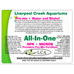 LCA Fertiliser-Living Reef Aquariums