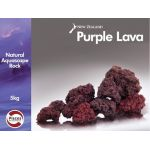 Purple lava rock